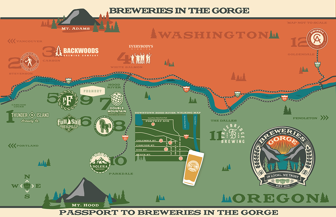 Local breweries united in helping you discover some of the Nation's finest beer through Breweries in the Gorge