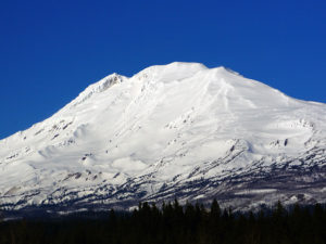 Washington's Mt. Adams is one of three volcanoes in the Columbia River Gorge Region