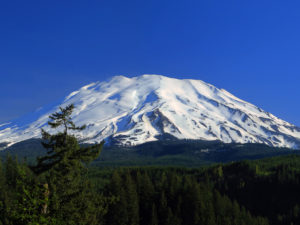 Washington's Mt. St. Helens is one of three volcanoes in the Columbia River Gorge Region