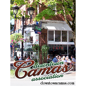 Downtown Camas Association invites you to visit their historic small town