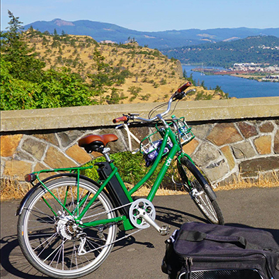 Discover why e-bikes are so much fun and becoming a favorite popular activity while exploring the Gorge