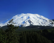 Legend of the mountains is about an ancient quarrel between two brothers now known as Mt. Adams and Mt. Hood