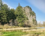 River to Rock Trail at Beacon Rock State Park in Washington